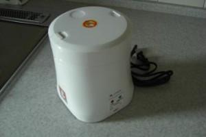 話題のミニ炊飯器 AL COLLE(アルコレ)のミニライスクッカー ARC10